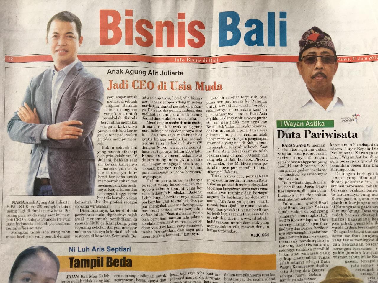 bisnis Bali