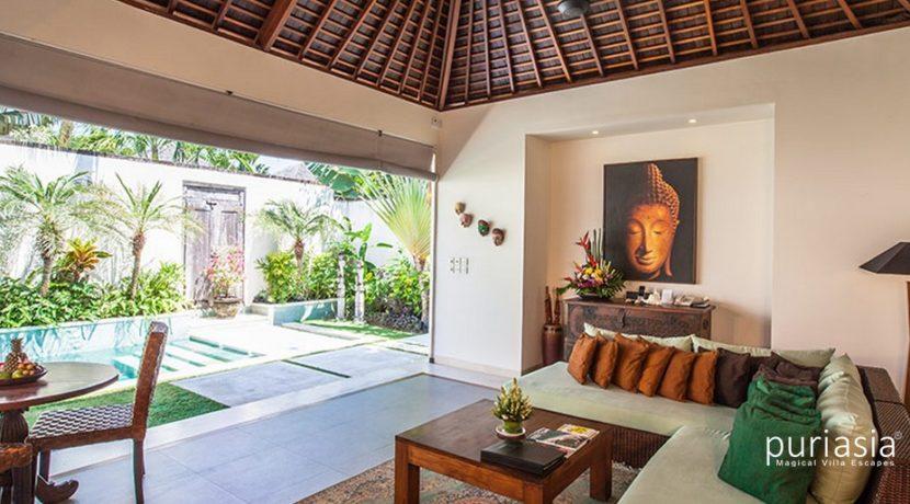 Villa Arjuna  - Living Area