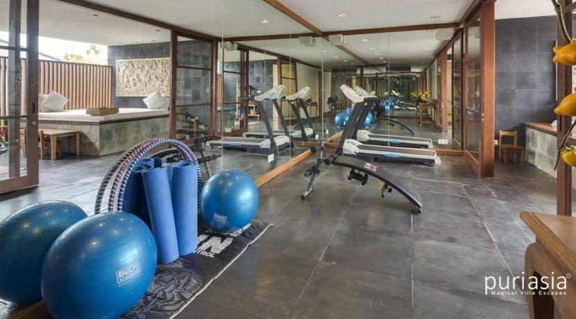 The Longhouse Villa - Gym