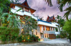 Baan Surin Sawan Villa - Villa external view from driveway
