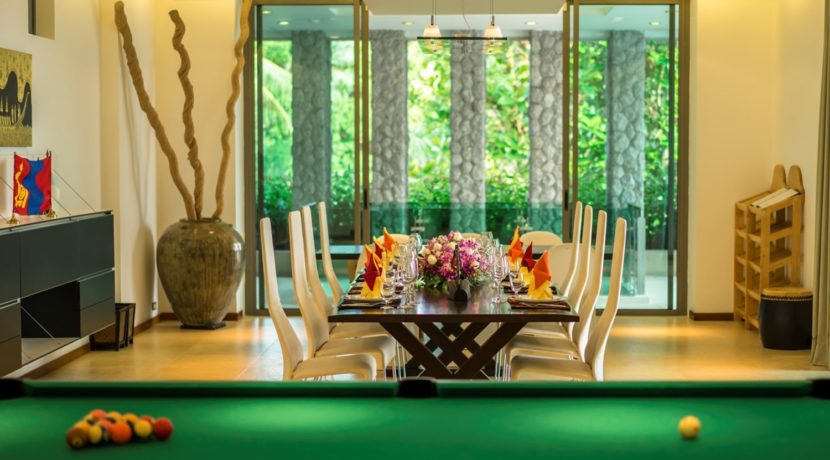 One Waterfall Bay Villa - Dining room
