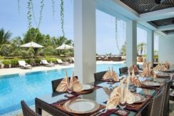 One Waterfall Bay - Poolside dining