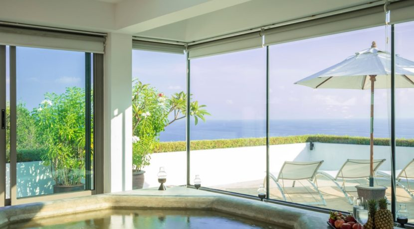 One Waterfall Bay Villa - View from spa room