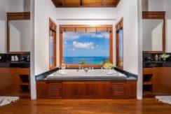 6. Villa Baan Bon Khao - Master suite ensuite bathroom luxurious design