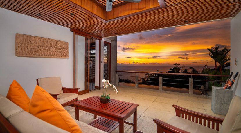 9. Villa Baan Bon Khao - Outdoor living area with amazing view