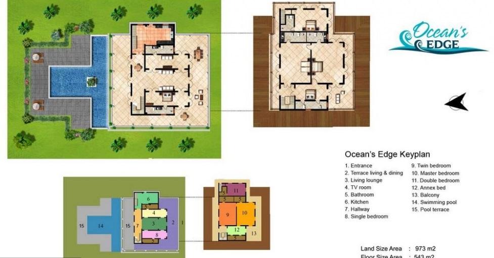 Ocean's Edge Villa