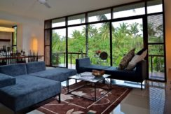 Ubud Green Villas - 2 Bedrooms Premier Living, Dining and Kitchen
