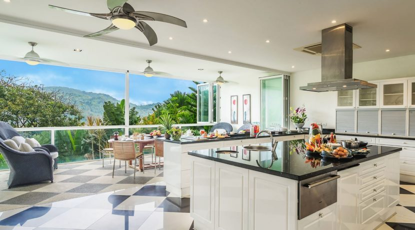 Villa Amanzi - Kitchen setting