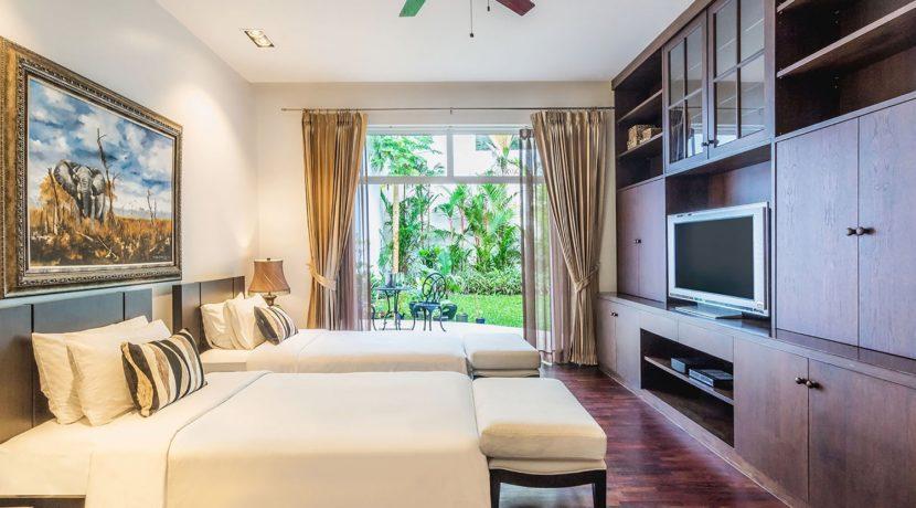 Villa Amanzi - Guest bedroom five layout