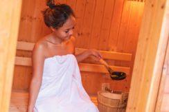 Villa Amanzi - Sauna relaxation