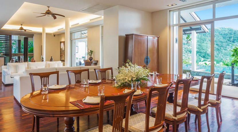 Villa Amanzi - Dining setting