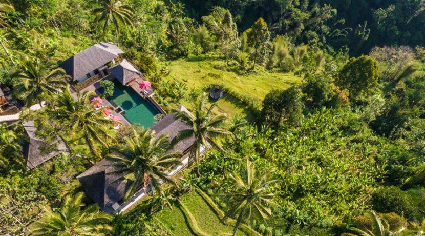Villa Awan Biru - Villa Aerial