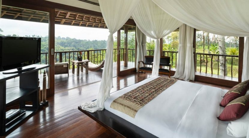 Villa Awan Biru - View from Bedroom