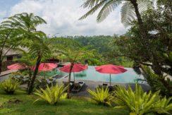 Villa Awan Biru - View from Villa