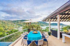 Villa Amanzi - Outdoor dining