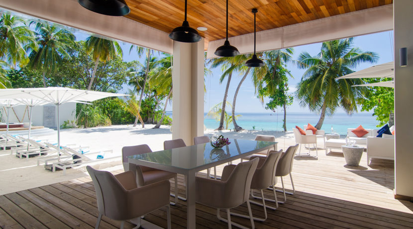 Amilla Villa Estate - Stunning View from Dining Area