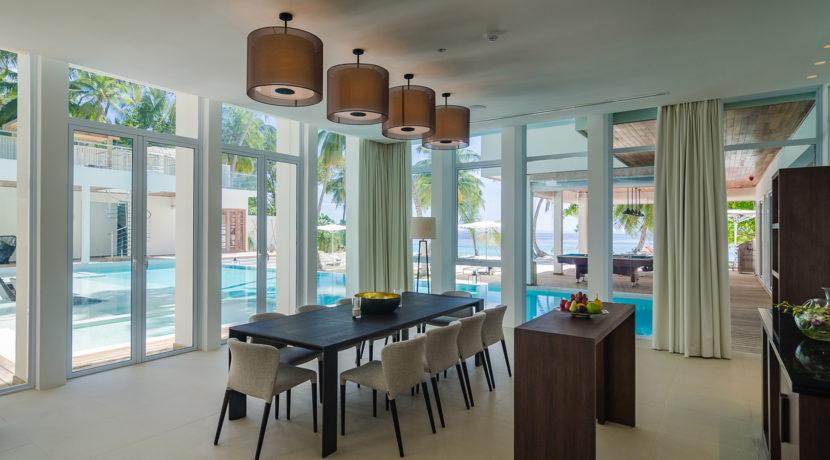 Amilla Villa Estate - Dining in Style