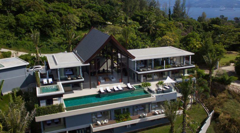 Villa Saan - Aerial Shot