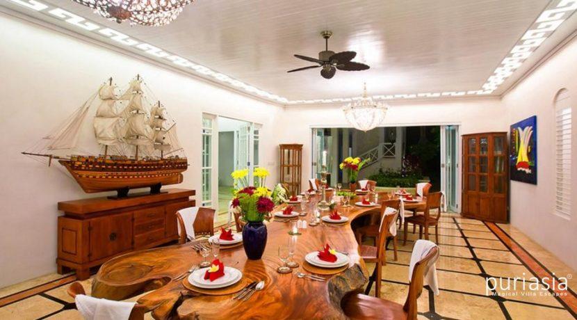 Puri Nirwana - Dinning area