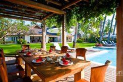 Puri Nirwana - Poolside Dinning