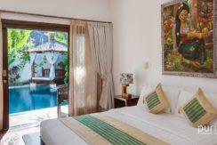 Villa Cempaka - Bedroom view