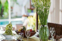 Villa Cempaka - Dinning Table