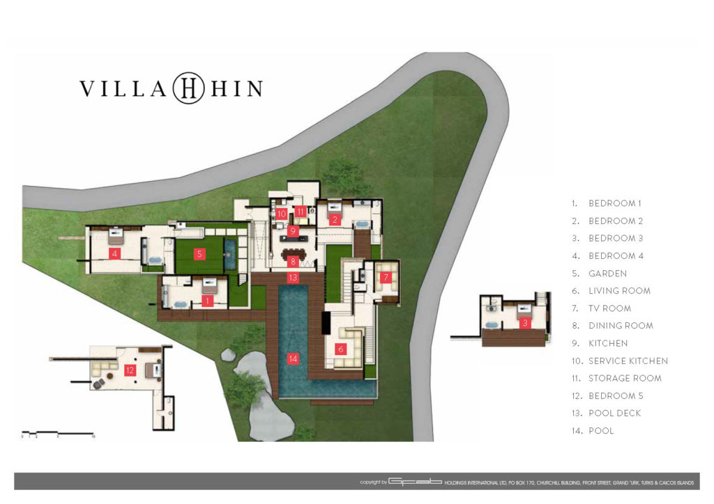 Villa Hin - Floor plan