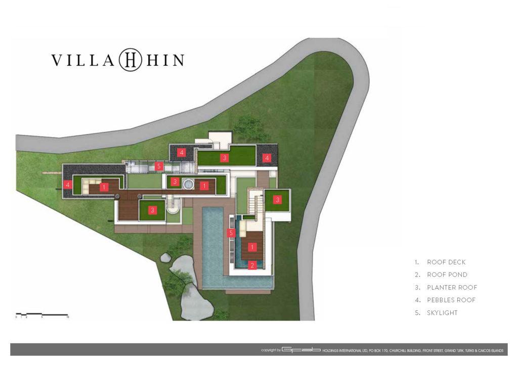 Villa Hin - Floorplan