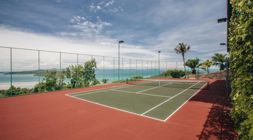 Villa Katrani - Tennis Court