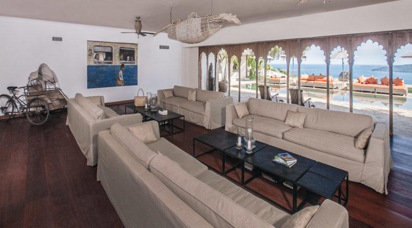 Villa Katrani - Living Area