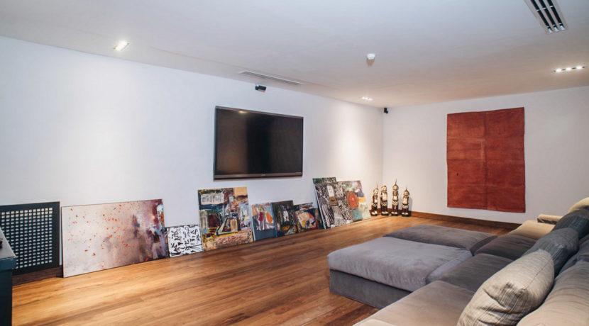 Villa Katrani - TV Room