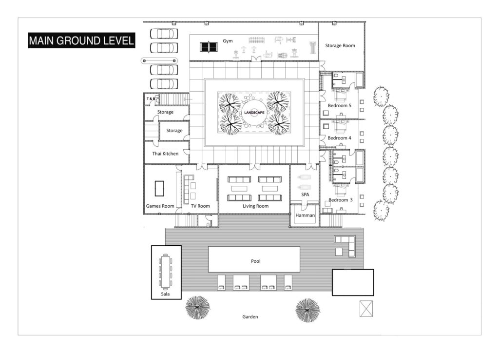 Villa Katrani - FloorPlan 2