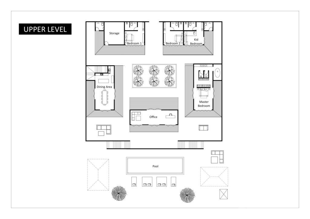 Villa Katrani - Floorplan