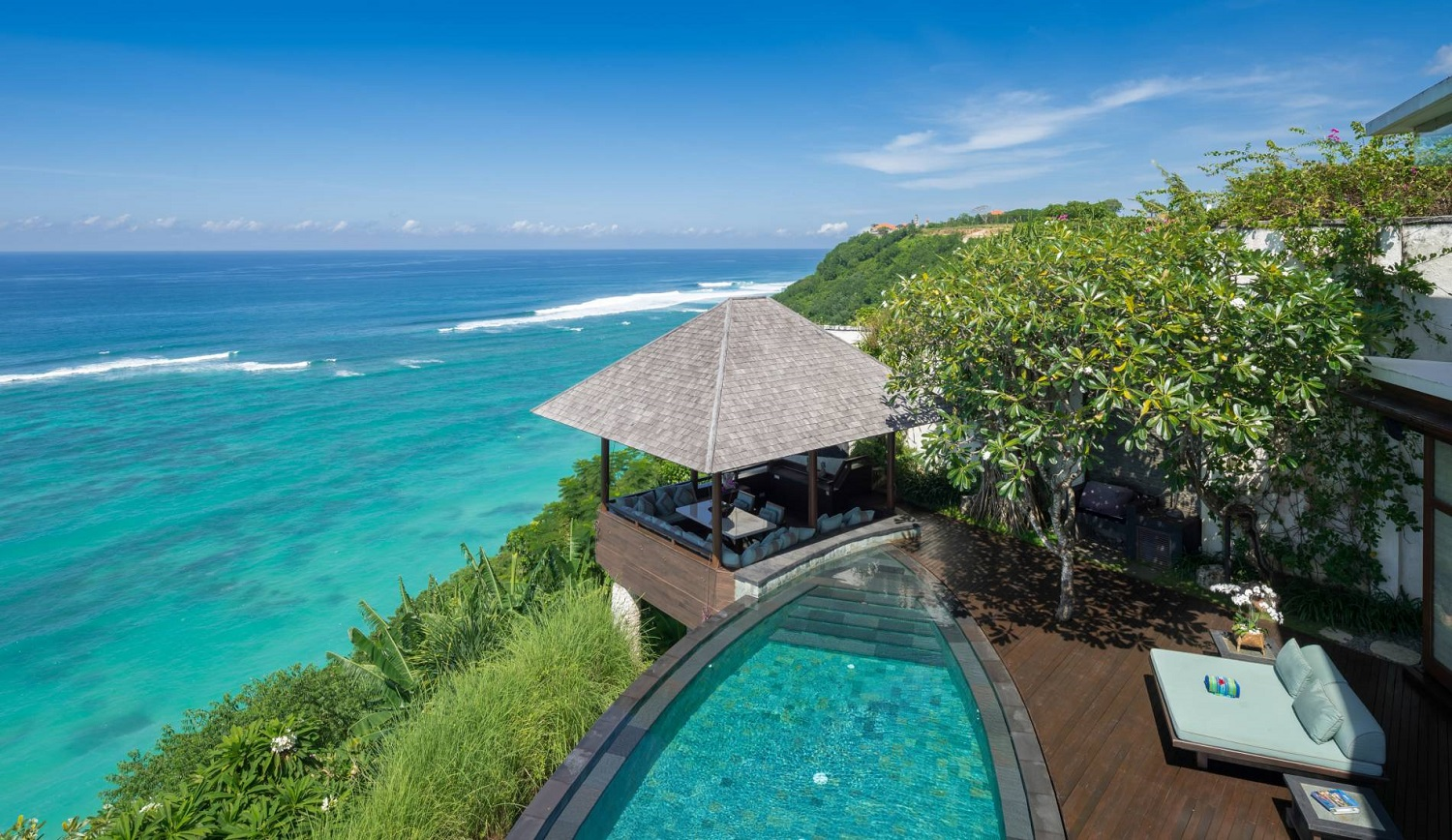 Villa Bidadari Cliffside