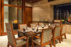 Villa Bidadari Cliffside Estate - Dining Area
