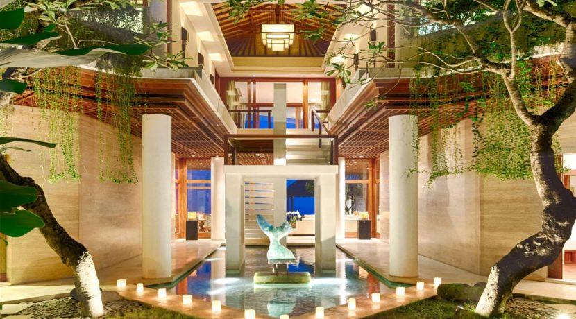 Villa Bidadari Cliffside Estate - Enterance