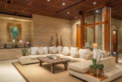 Villa Bidadari Cliffside Estate - Living Room Area