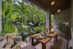 Villa The Luxe Bali - Breakfast Area