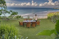Villa The Luxe Bali - Dining with Ocean View