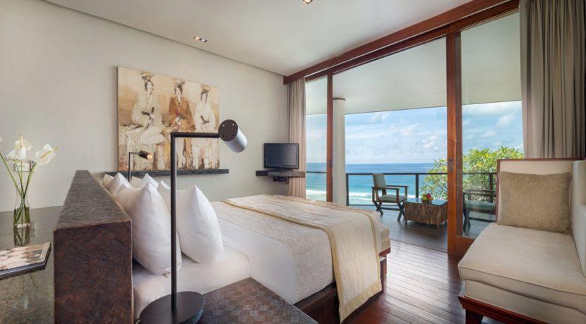 Villa Bidadari Cliffside Estate - Bedroom Outlook