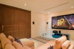 Villa Samira - Private movie room