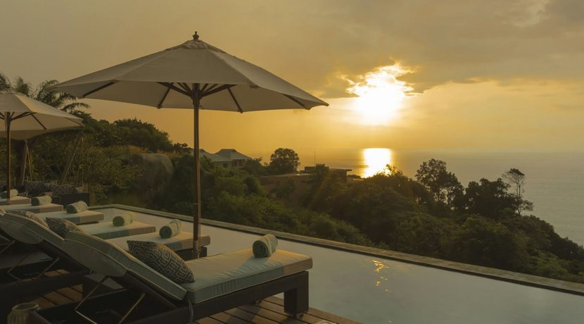 Villa Samira - Stunning sunset
