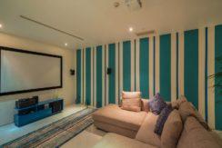 Villa Samira - Movie room interior