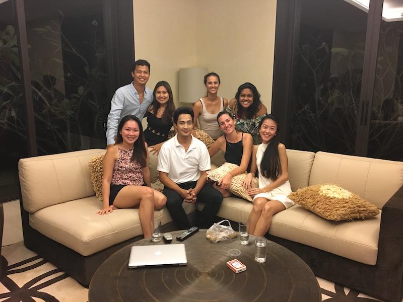 Phuket Villa site inspection - Villa Sawarin team