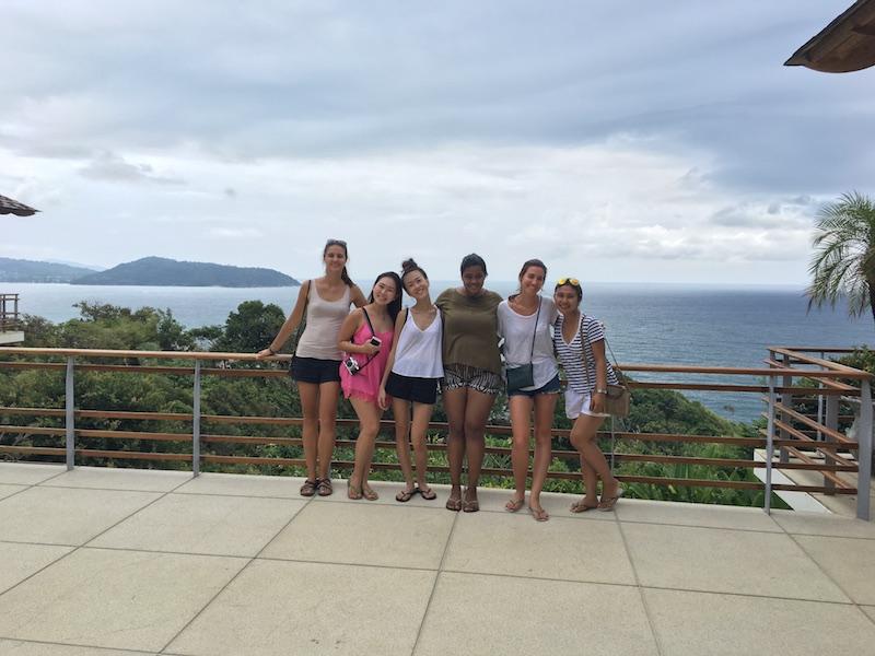 Phuket Villa site inspection with team