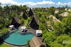 Own Villa - Pool and Villa from Above