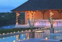 Villa Casa Del Mar - Pool and Villa at Night