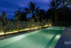 Casabama Villas - Pool at Night