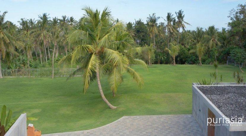 Casabama Villas - Front Lawn