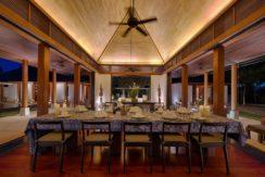 Villa Ananda - Dinner Set Up